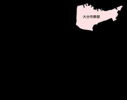 大分市東部